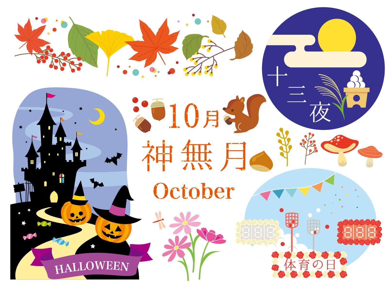 10月といえば イベントや行事 花や食べ物など話題のタネまとめ 速報 スクープちゃんニュース